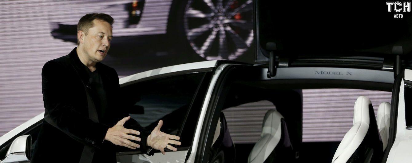 Маск рассказал об управлении электрокарами Tesla через смартфон