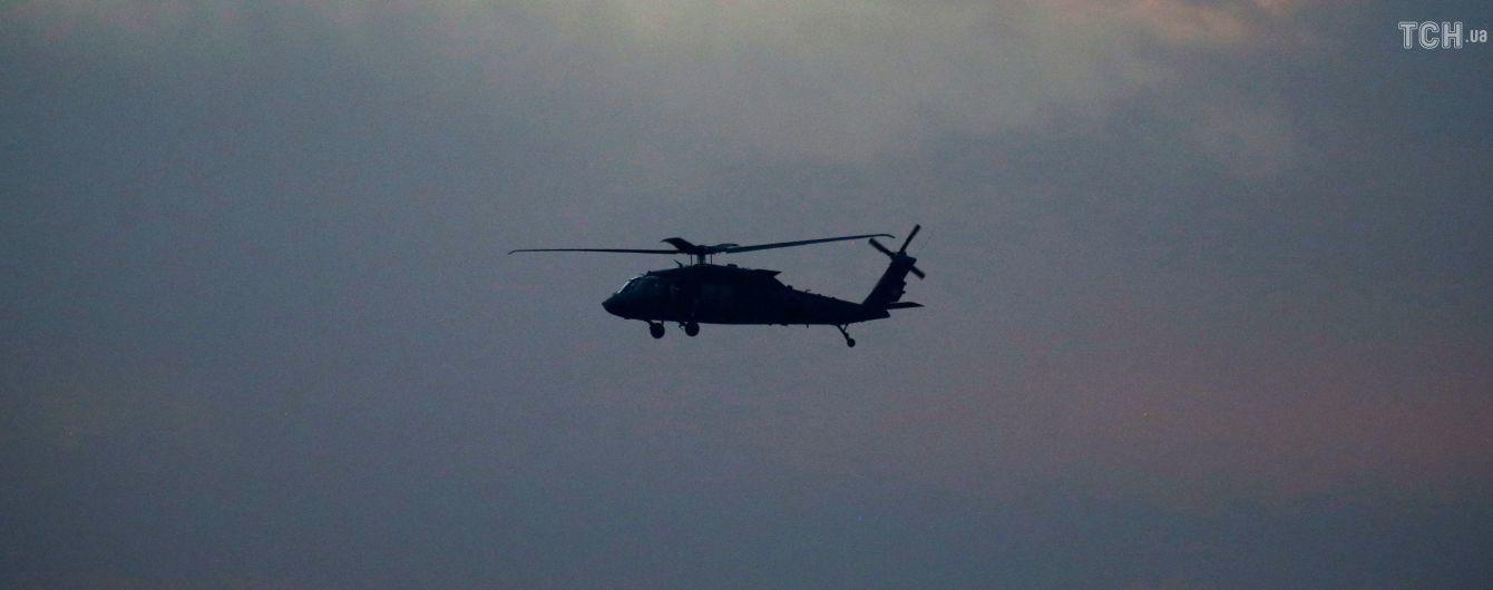 В Афганистане разбился вертолет с военными