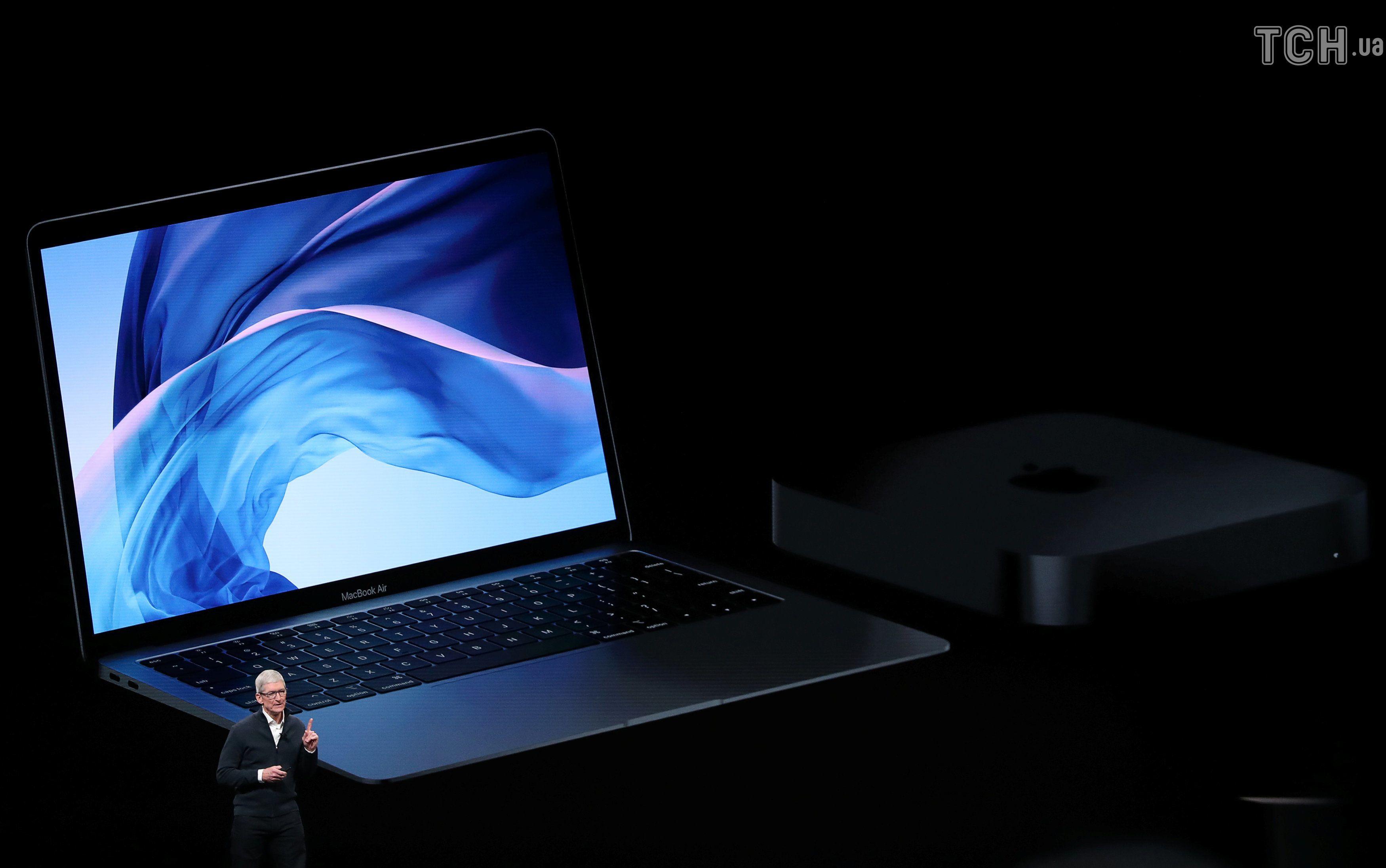 нові Macbook Air та Mac Mini