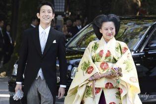 Как это выглядит в Японии: свадьба внучки императора принцессы Аяко и Кея Мория