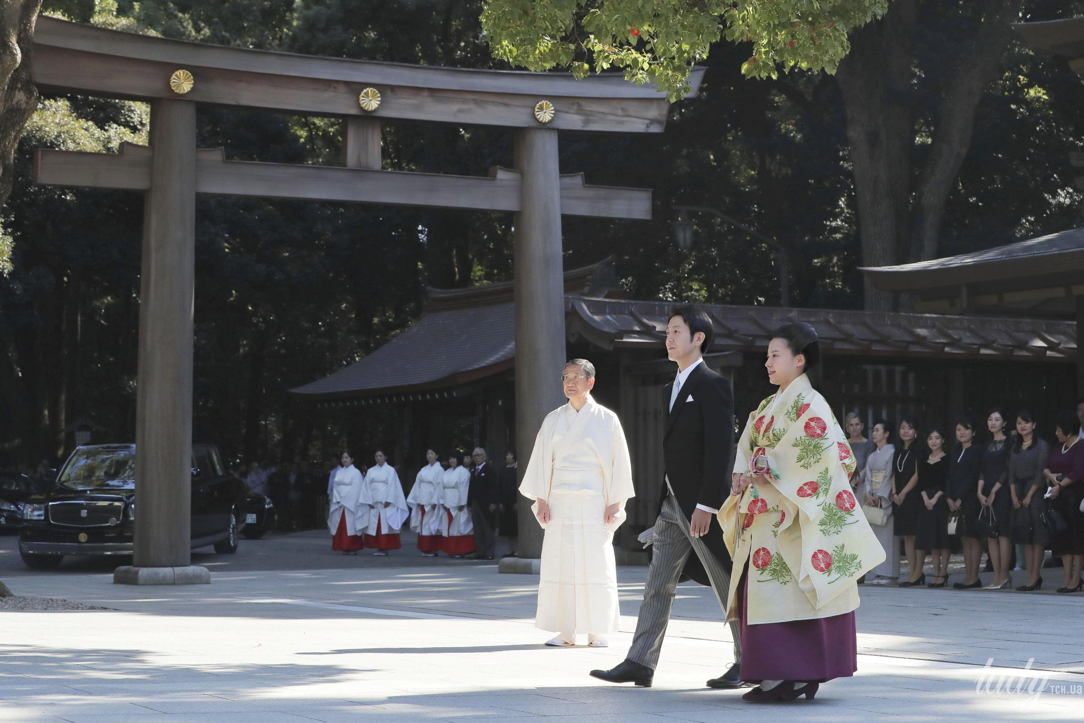 Свадьба принцессы Аяко и Кея Мория_4