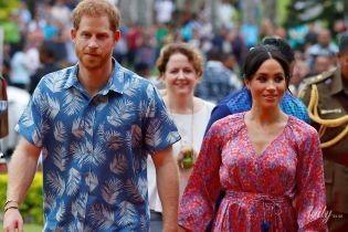 Вот это да: беременную герцогиню Сассекскую во время королевского тура охраняет телохранитель-женщина