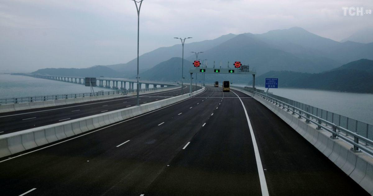У Китаї відкриють найдовший у світі морський міст: головне про рекордну споруду. Інфографіка