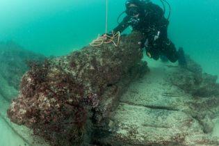 У Чорному морі знайшли найстаріший у світі цілий затонулий корабель