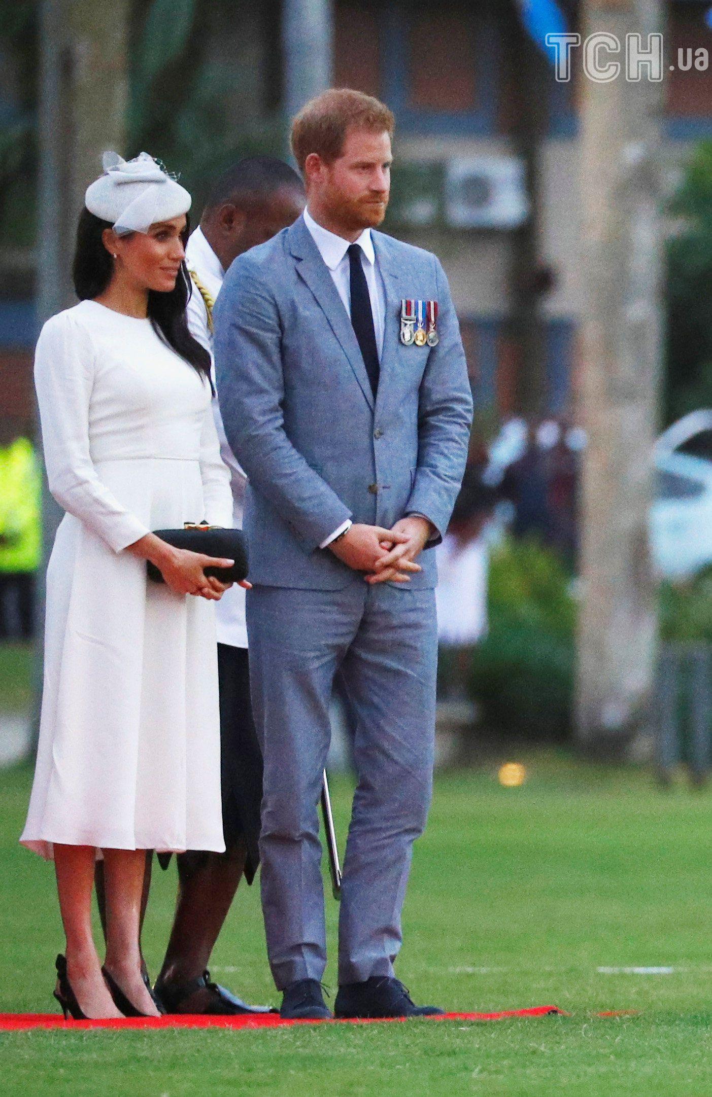Меган та принц Гаррі, Фіджі_4