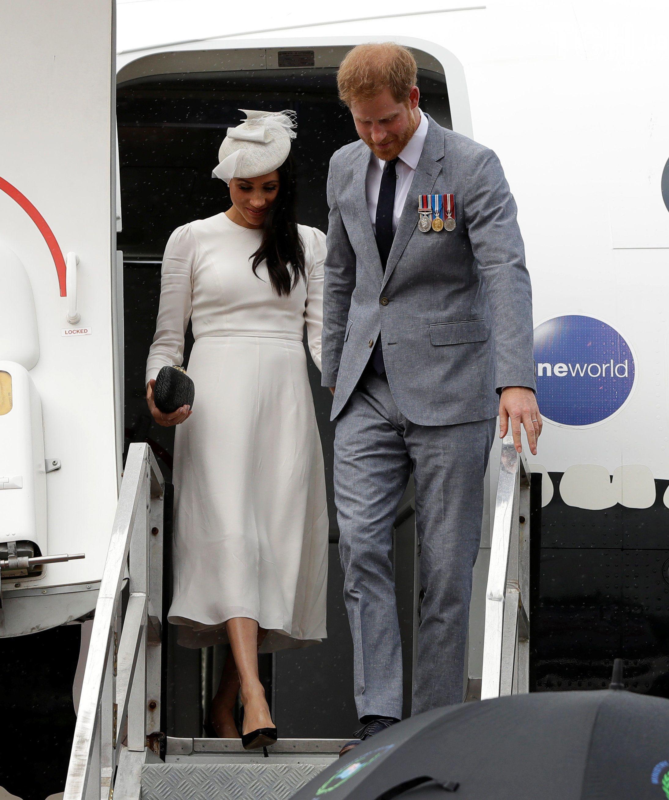 Меган та принц Гаррі, Фіджі_1