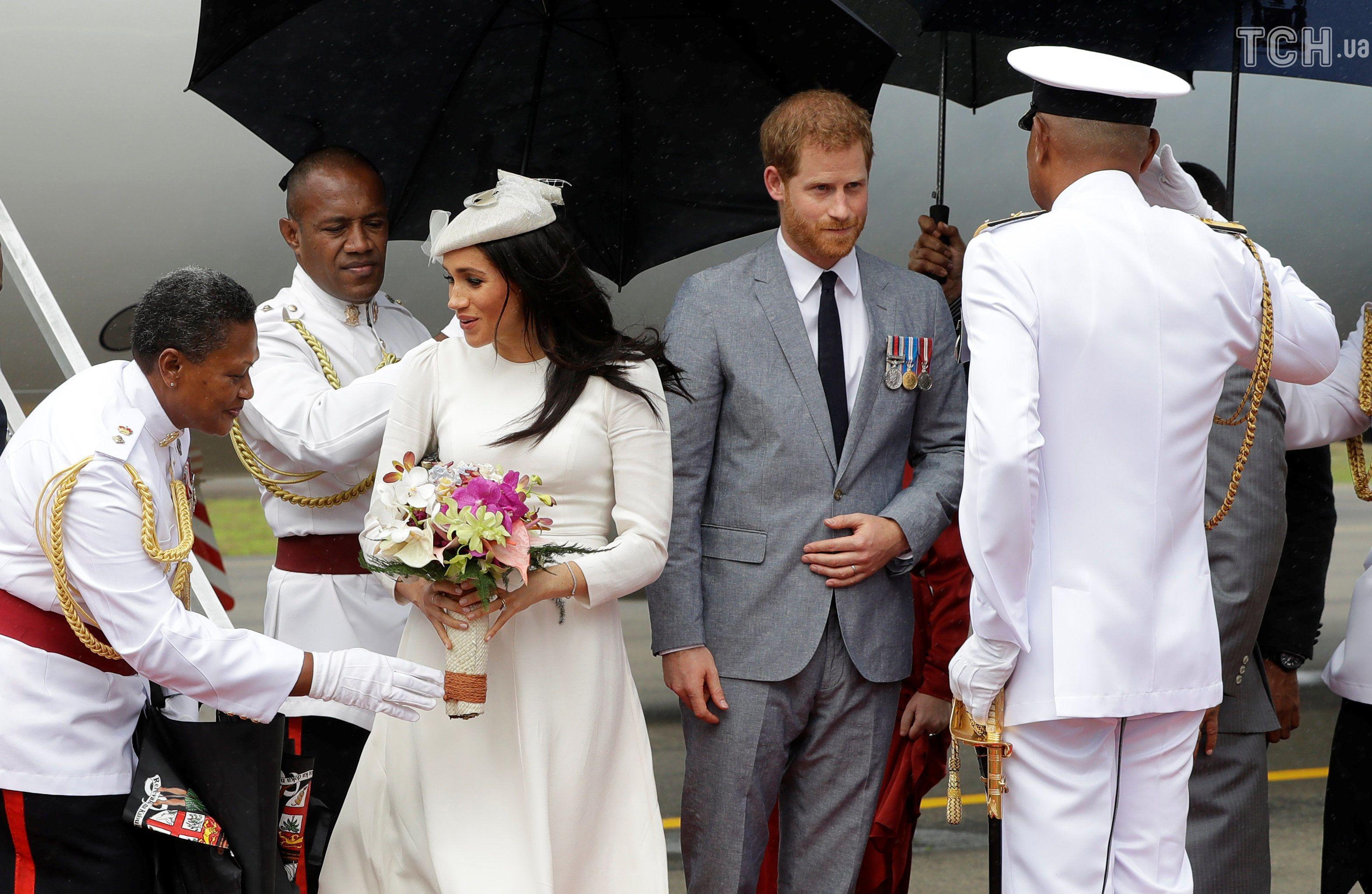 Меган та принц Гаррі, Фіджі_2