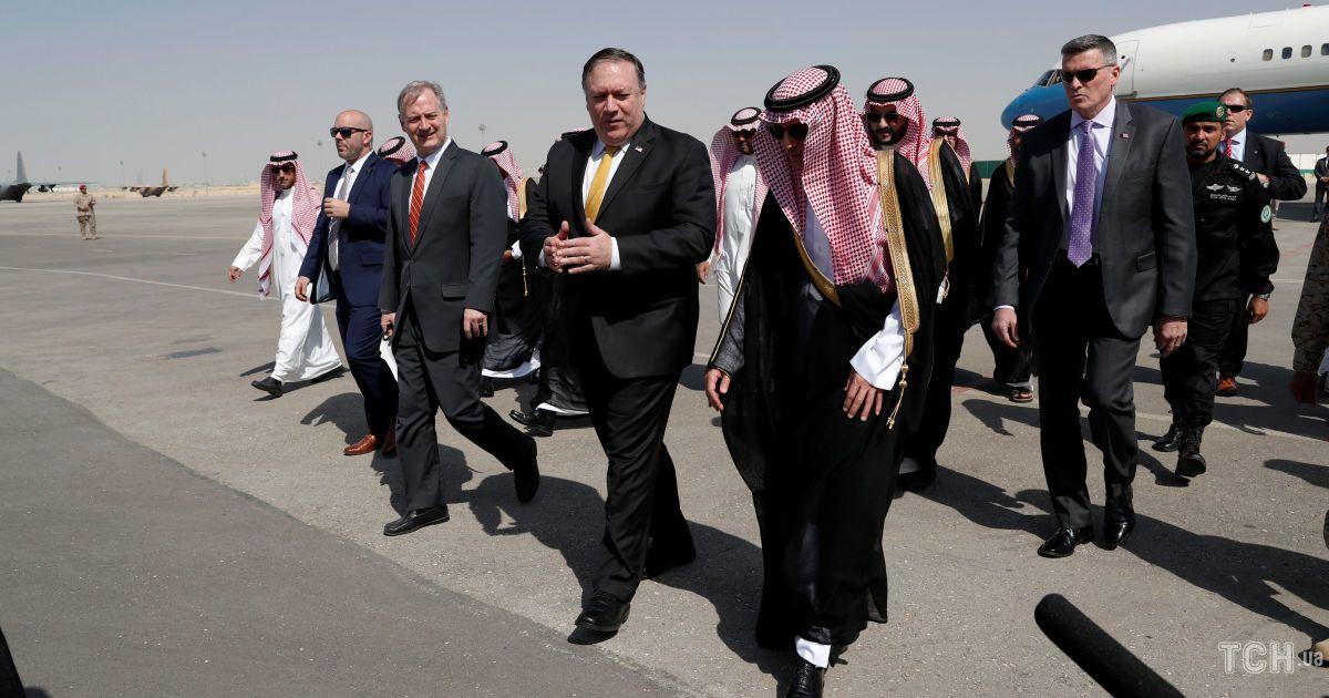 Майк Помпео в Саудовской Аравии, встреча с королем Салманом