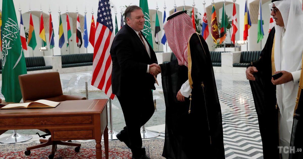 Майк Помпео в Саудовской Аравии, встреча с королем Салманом @ Reuters
