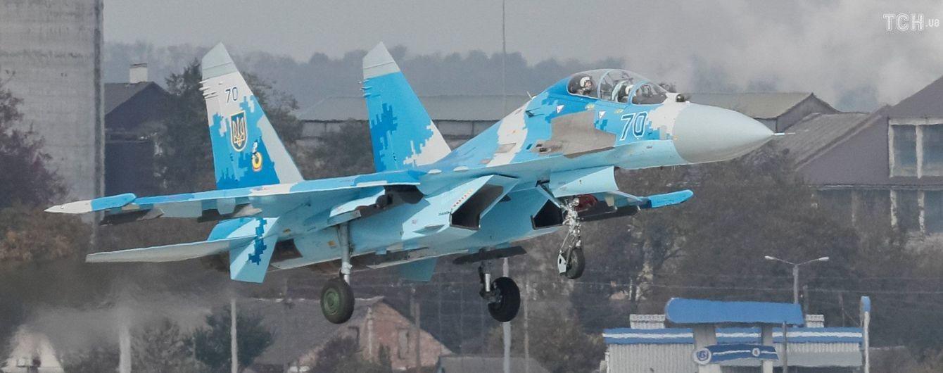 В аварії винищувача Су-27 на Вінниччині загинули двоє пілотів