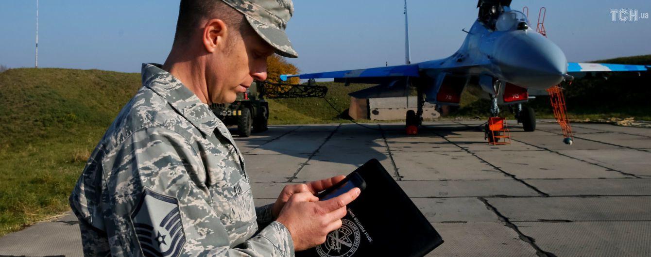 Аварія винищувача Су-27. Міністр оборони заявив, що літак ремонтували цього року