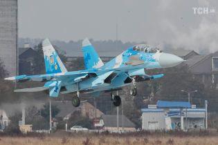 У Збройних силах України прокоментували аварію літака Су-27 на Житомирщині