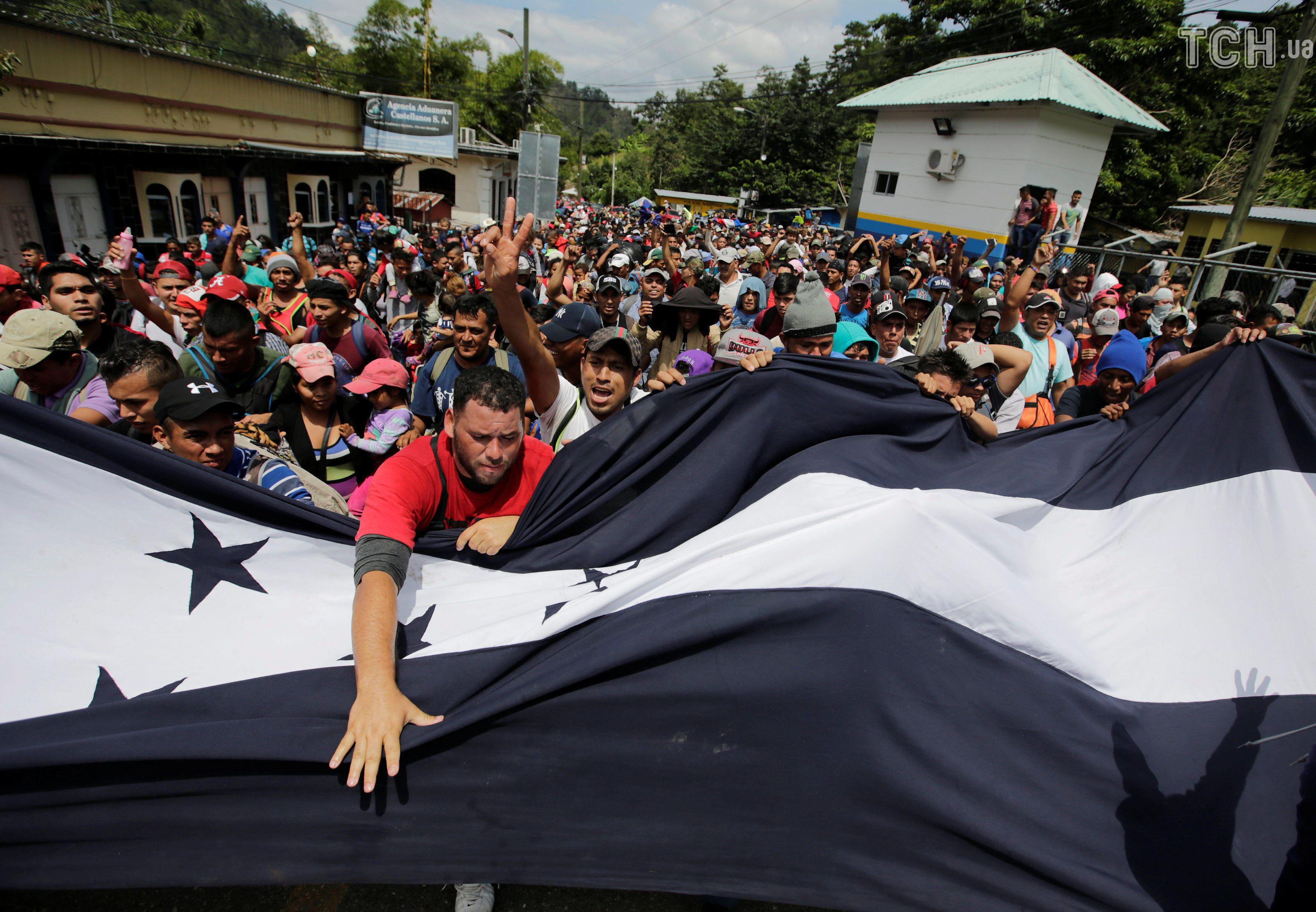 Марш мігрантів із Гондурасу