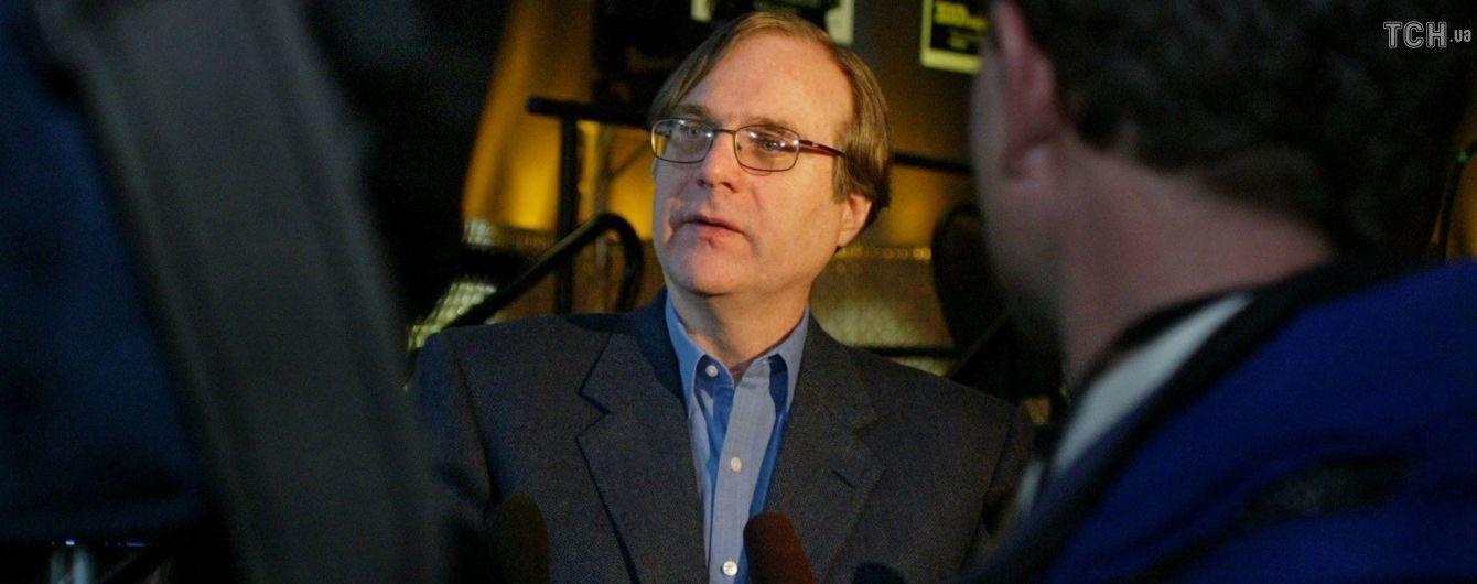 Помер один із засновників Microsoft