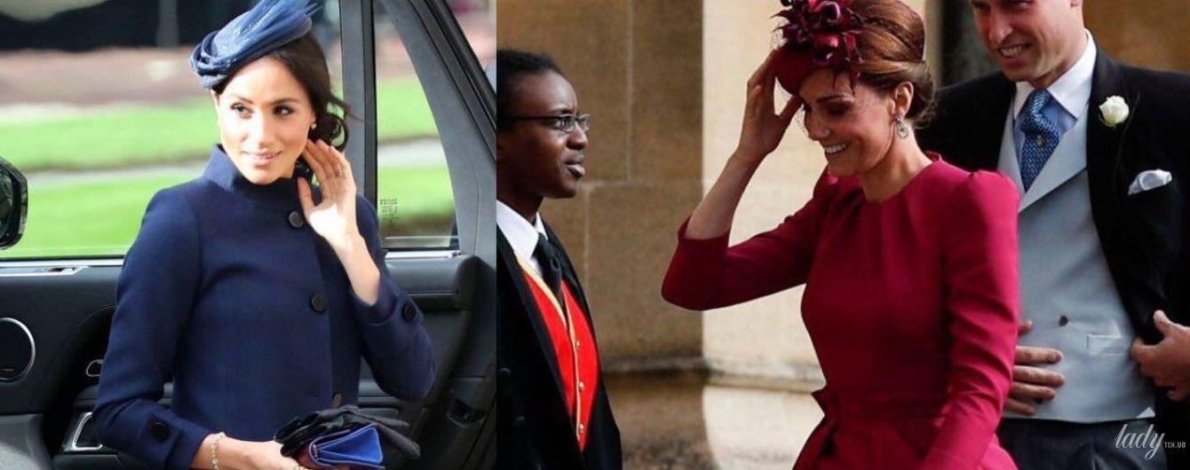 Синее или красное: битва образов герцогинь Кембриджской и Сассекской