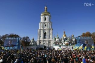 Усе неймовірно збіглося: в Софії Київській дивуються, що саме під об'єднавчий собор завершили реставрацію