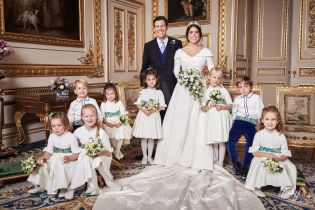 Королівський палац поділився офіційними знімками з весілля принцеси Євгенії і Джека Бруксбенка