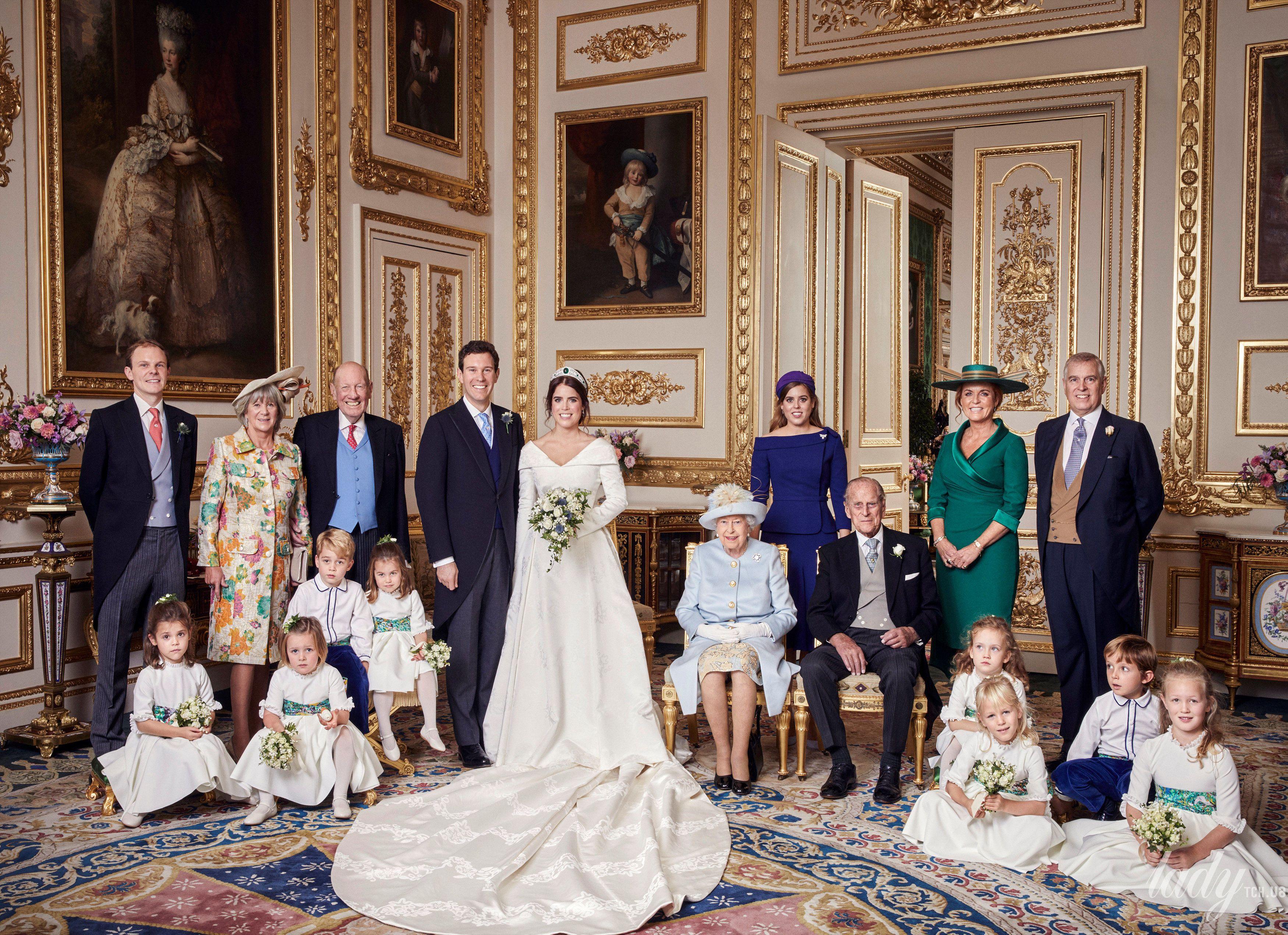 Свадебные фото принцессы Евгении_3