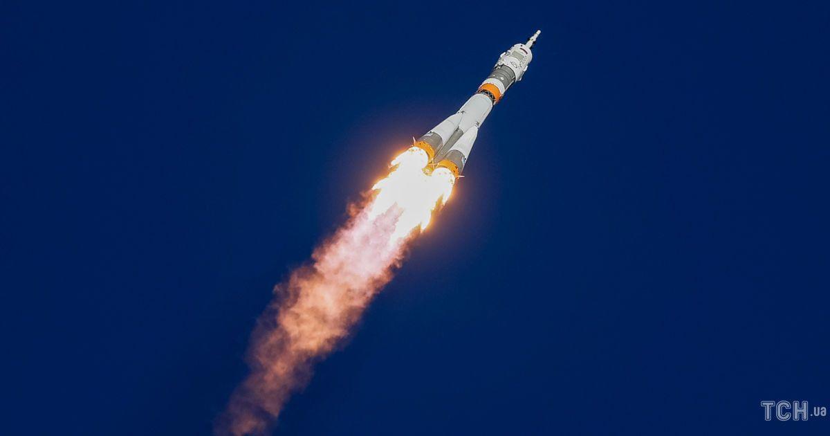 """Запуск ракеты """"Союз"""""""