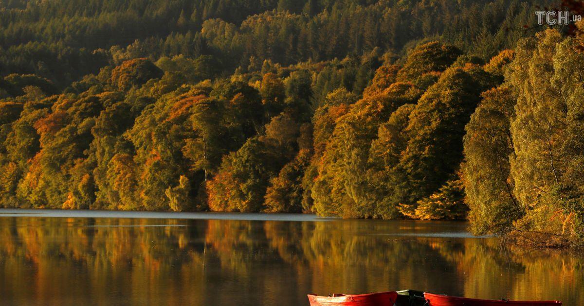 Осень в Шотландии @ Reuters