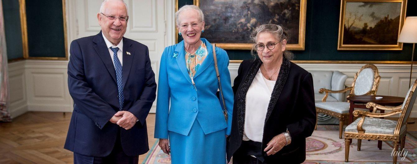 Затмила первую леди Израиля: яркий выход 78-летней королевы Маргрете II