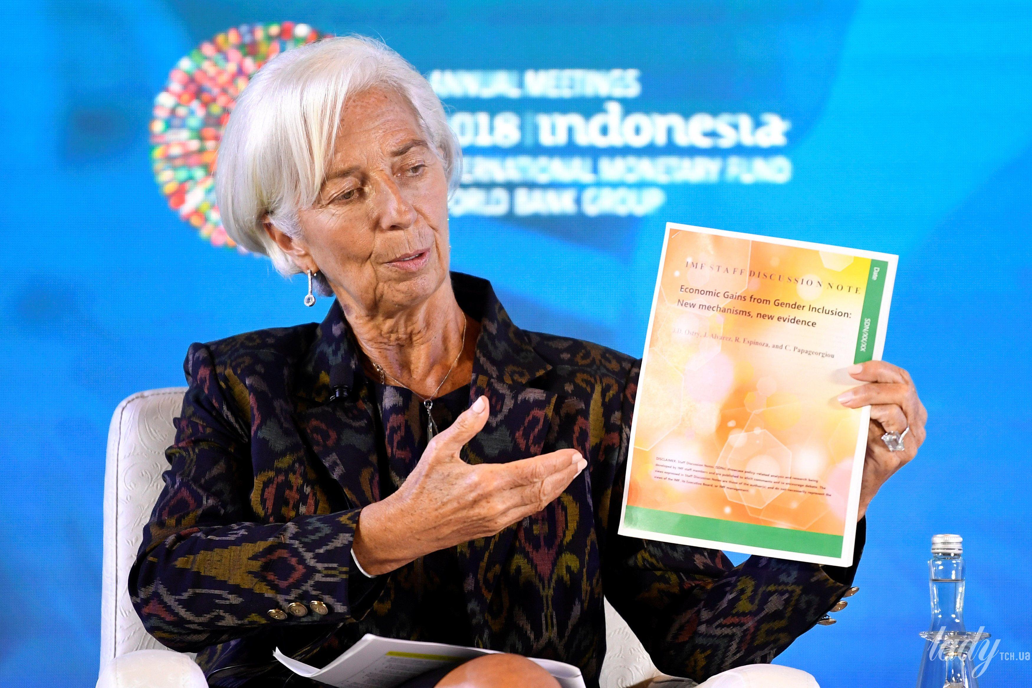 Глава Международного валютного фонда Кристин Лагард_2