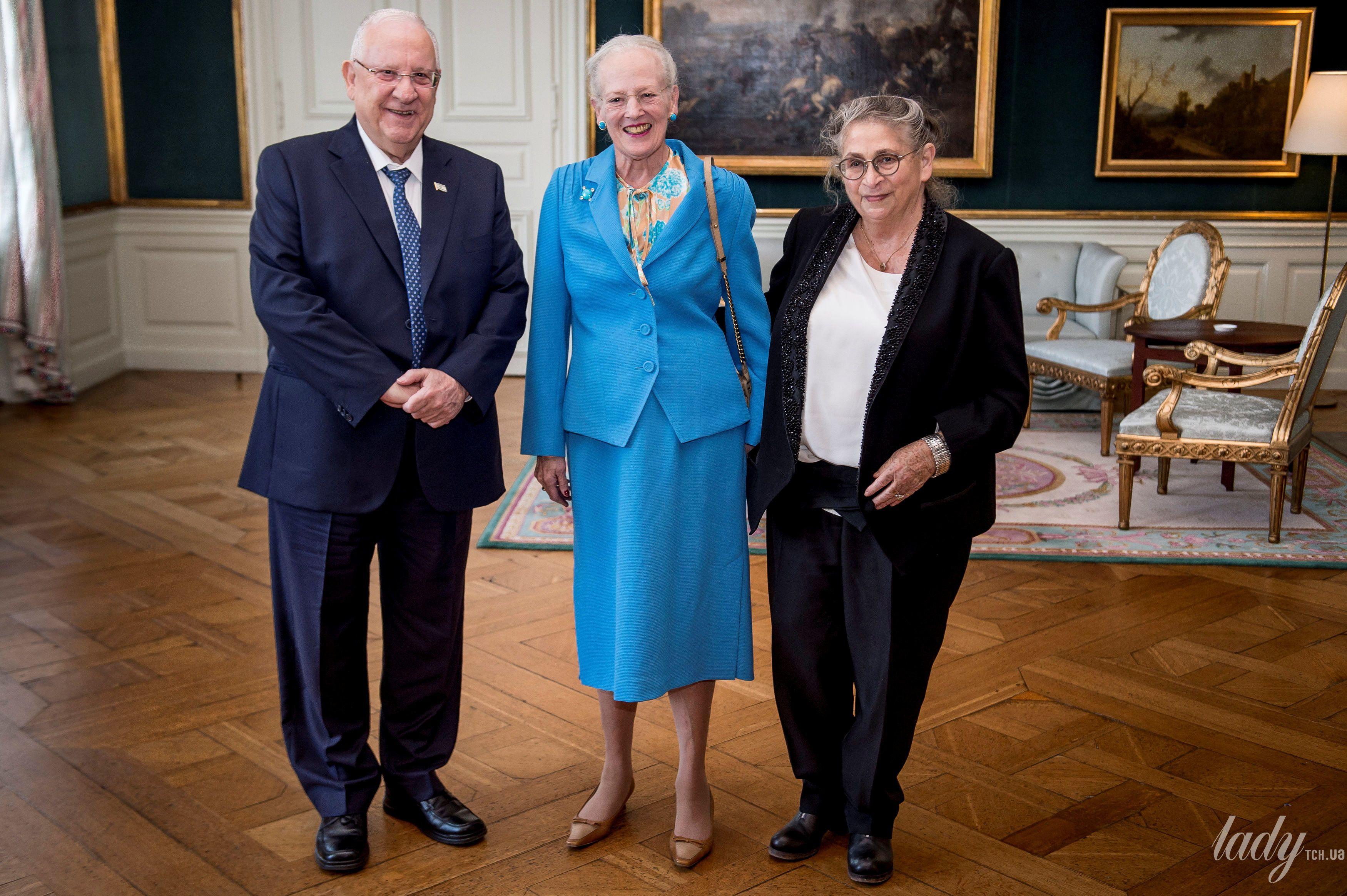 Королева Маргрете II и президент Израиля Реувен Ривлин_4