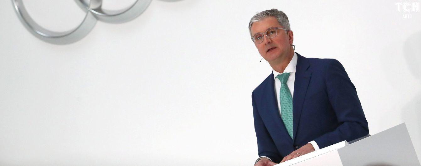 Гендиректор Audi AG уволился из-за длительного ареста и судов