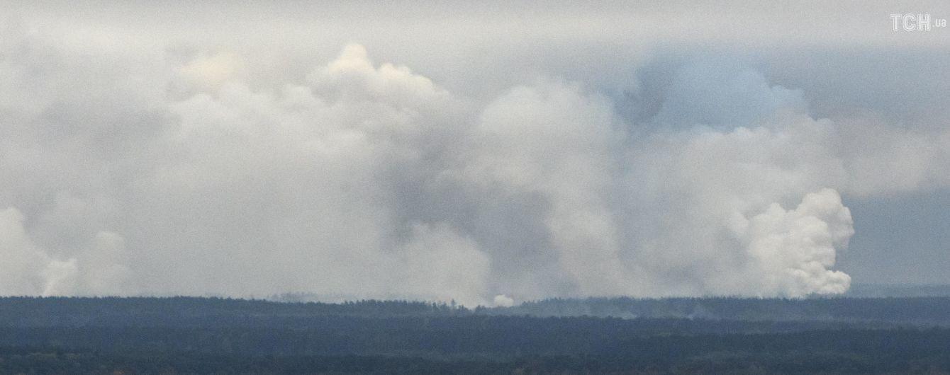 Взрывы на военных складах на Черниговщине: химического оружия на арсенале нет