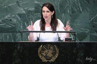 Премьер-министр Новой Зеландии вновь пришла на сессию Генеральной Ассамблеи ООН с новорожденной дочкой