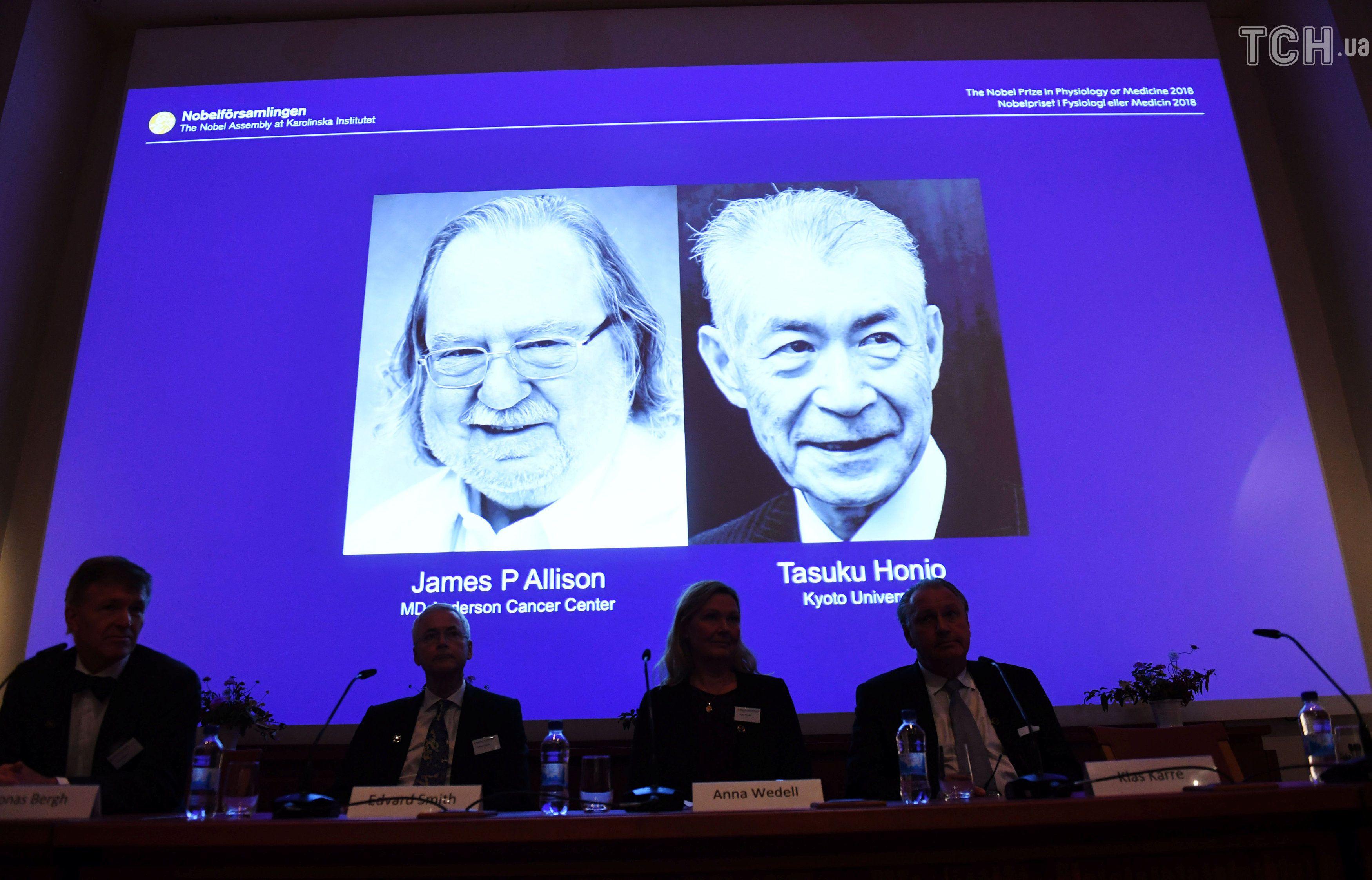 лауреати нобелівської премії з медицини