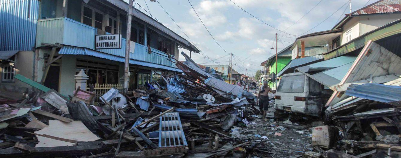В Индонезии пропавшими без вести после землетрясения остались более 5 тыс. человек