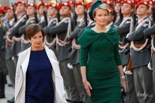 Королева Матильда vs первая леди Австрии: битва элегантных образов