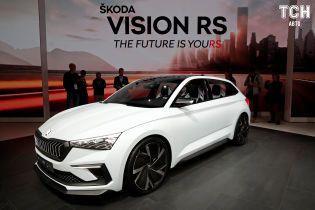 "Паризький автосалон 2018: гібридна Skoda Vision RS отримала ""гарячий"" дизайн"