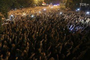 В Єревані тривають масові протести заради призначення виборів