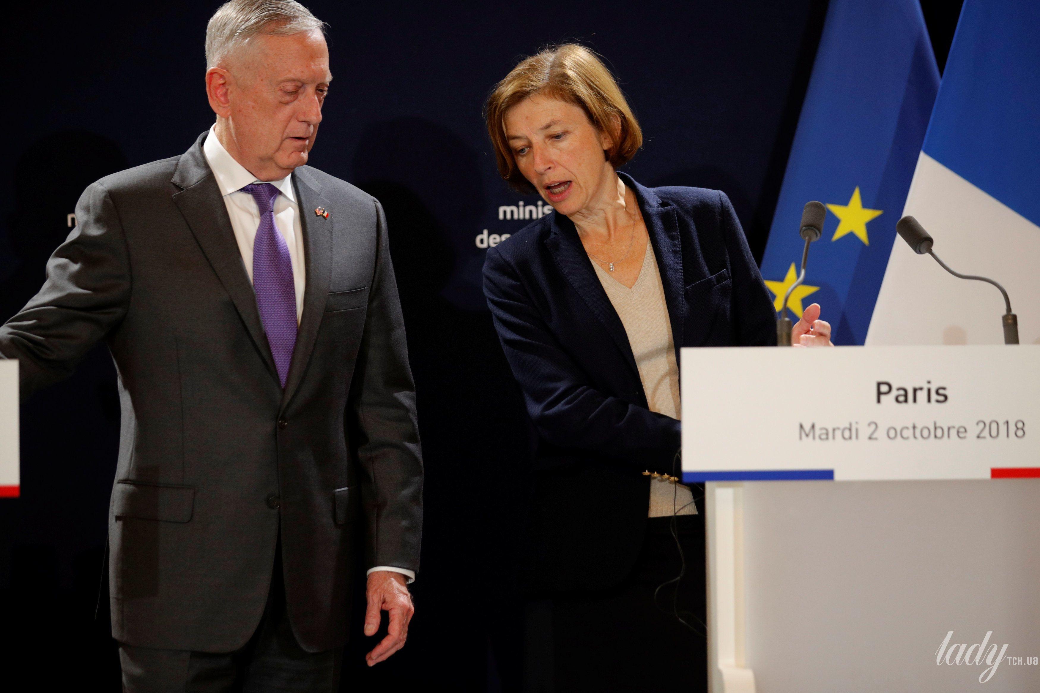 Министр обороны Франции Флоранс Парли_3