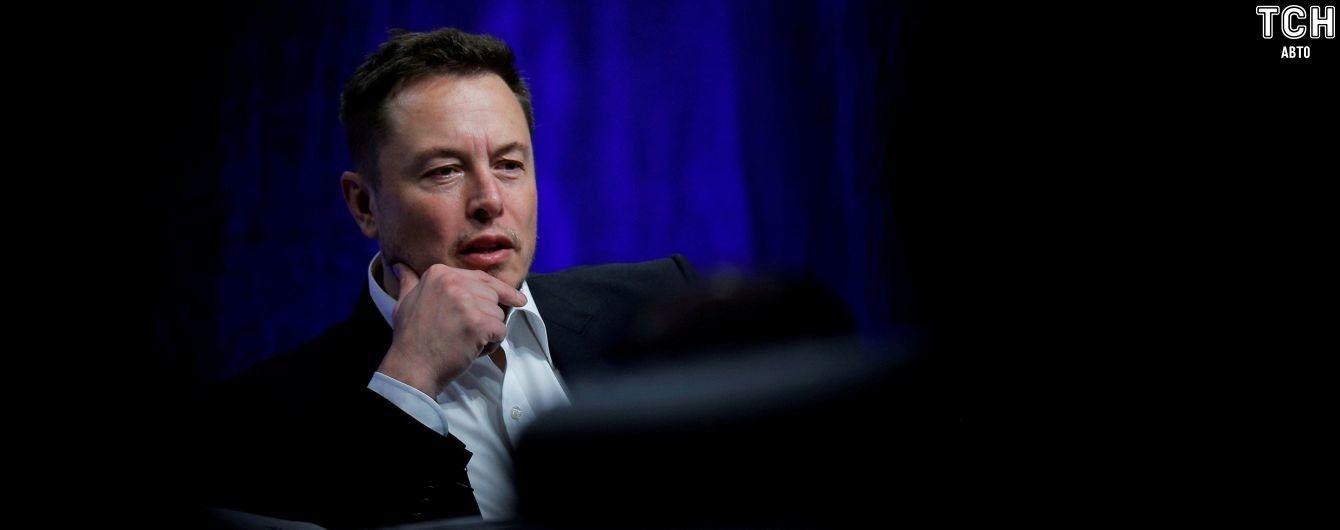 Ілон Маск відсторонений від управління компанією Tesla