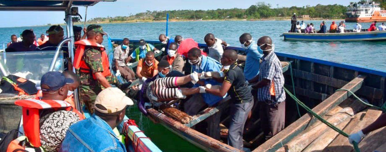 Кількість жертв аварії порома в Танзанії перевищила 200 осіб