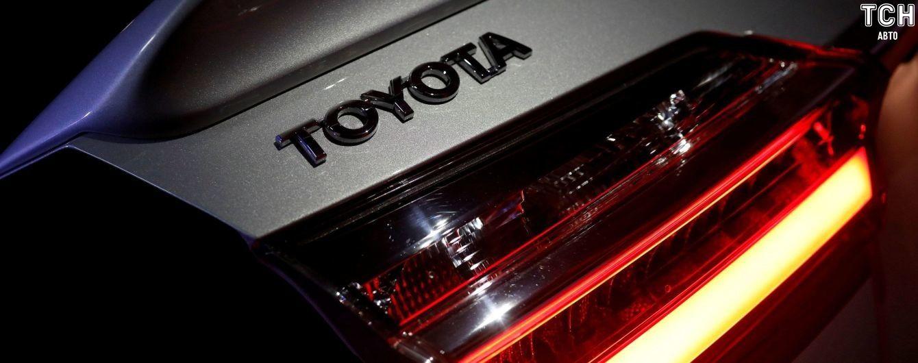 Toyota маркуватиме деталі, щоб захистити машини від викрадень