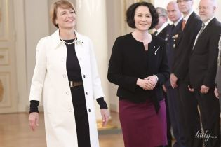 Виглядають чудово: перші леді Німеччини і Фінляндії продемонстрували елегантні образи