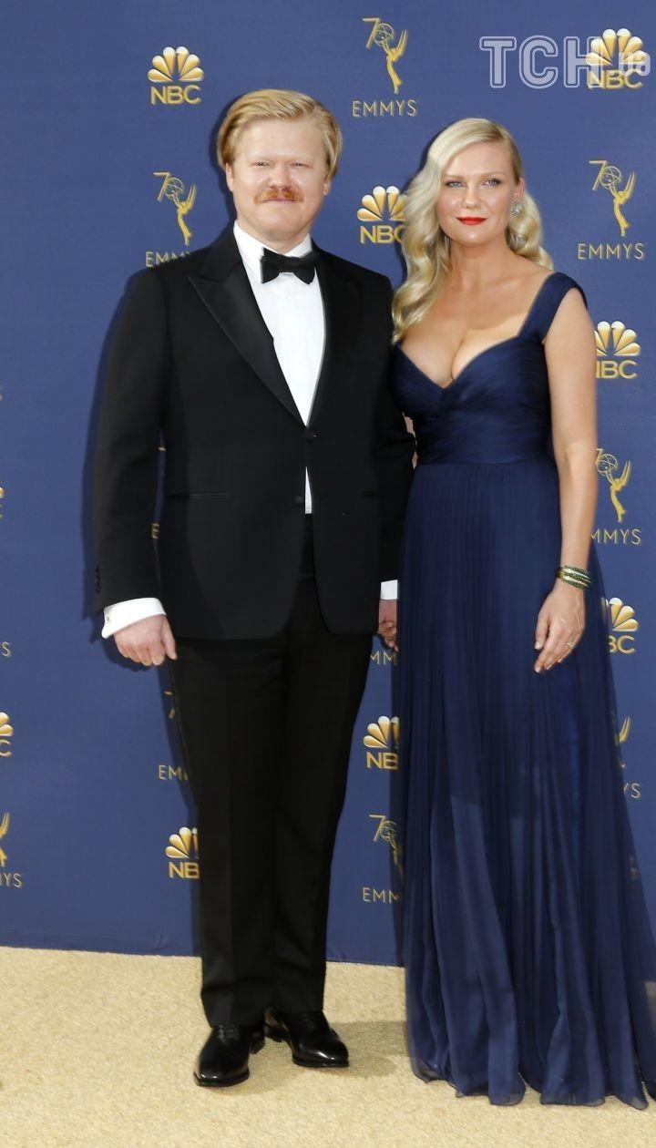 Кирстен Данст с мужем