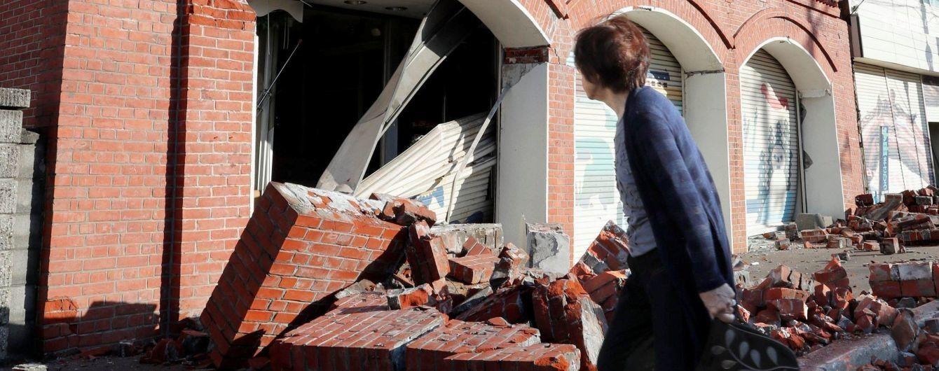 В результате мощных землетрясений в Японии пострадали 120 человек