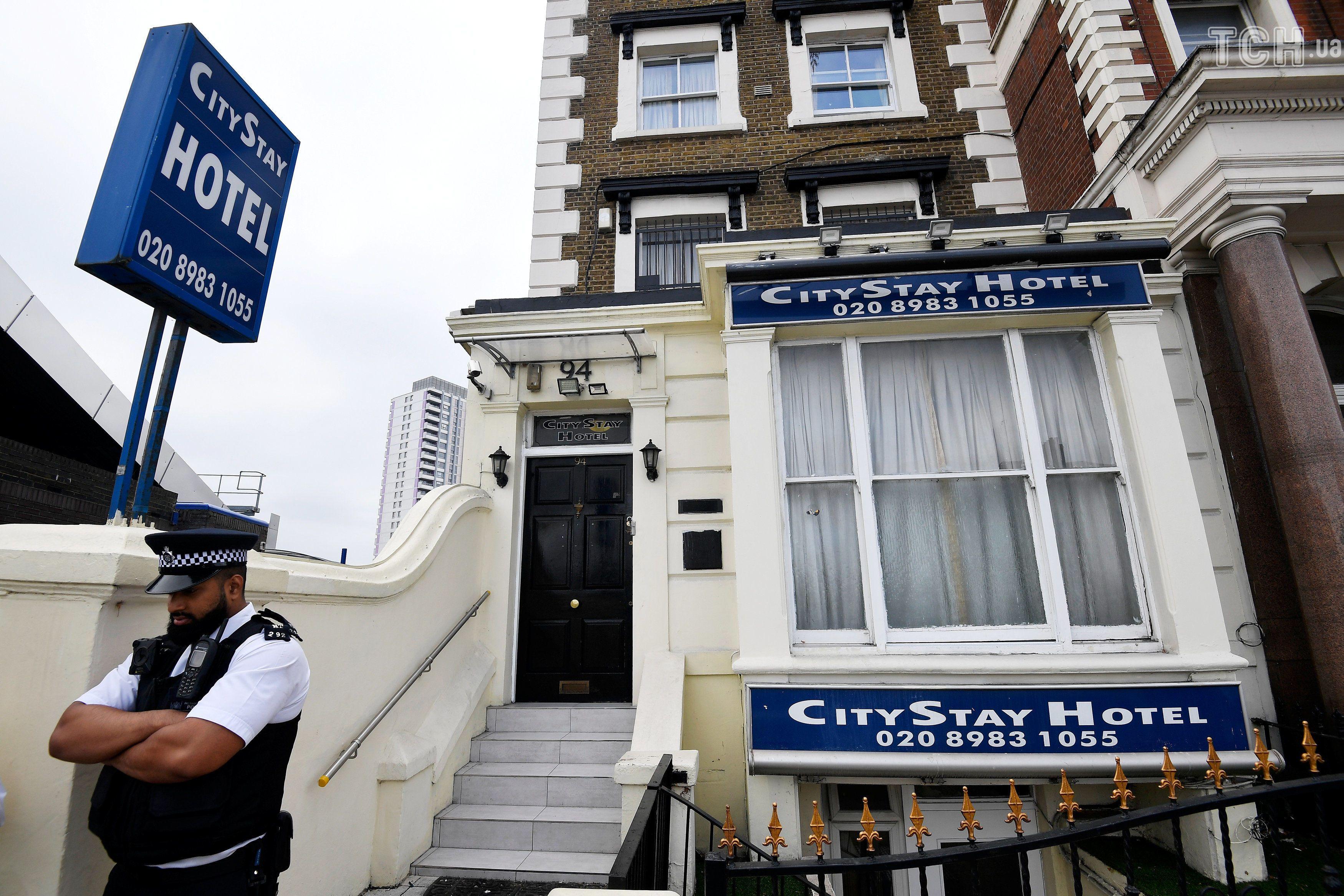 готель, де зупинились підозрювані в отруєнні Скрипалів