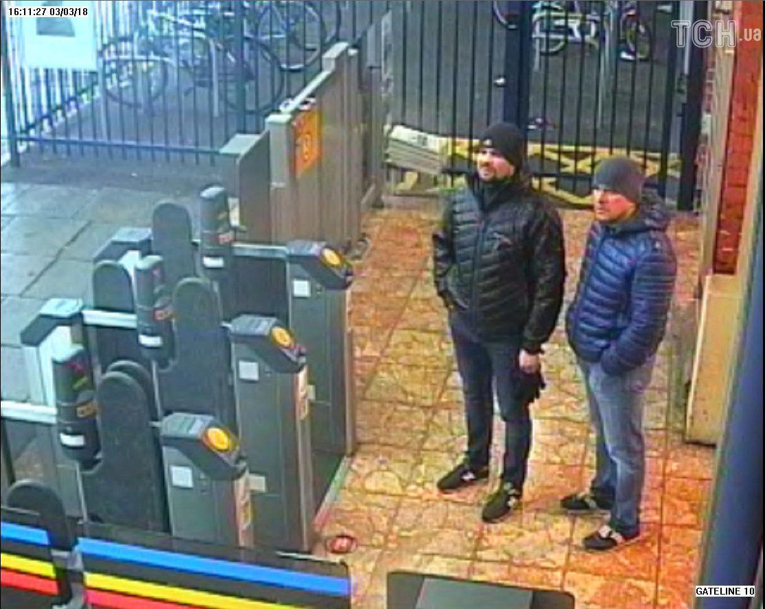 Підозрювані в отруєнні Скрипалів, фото з камер спостереження_7