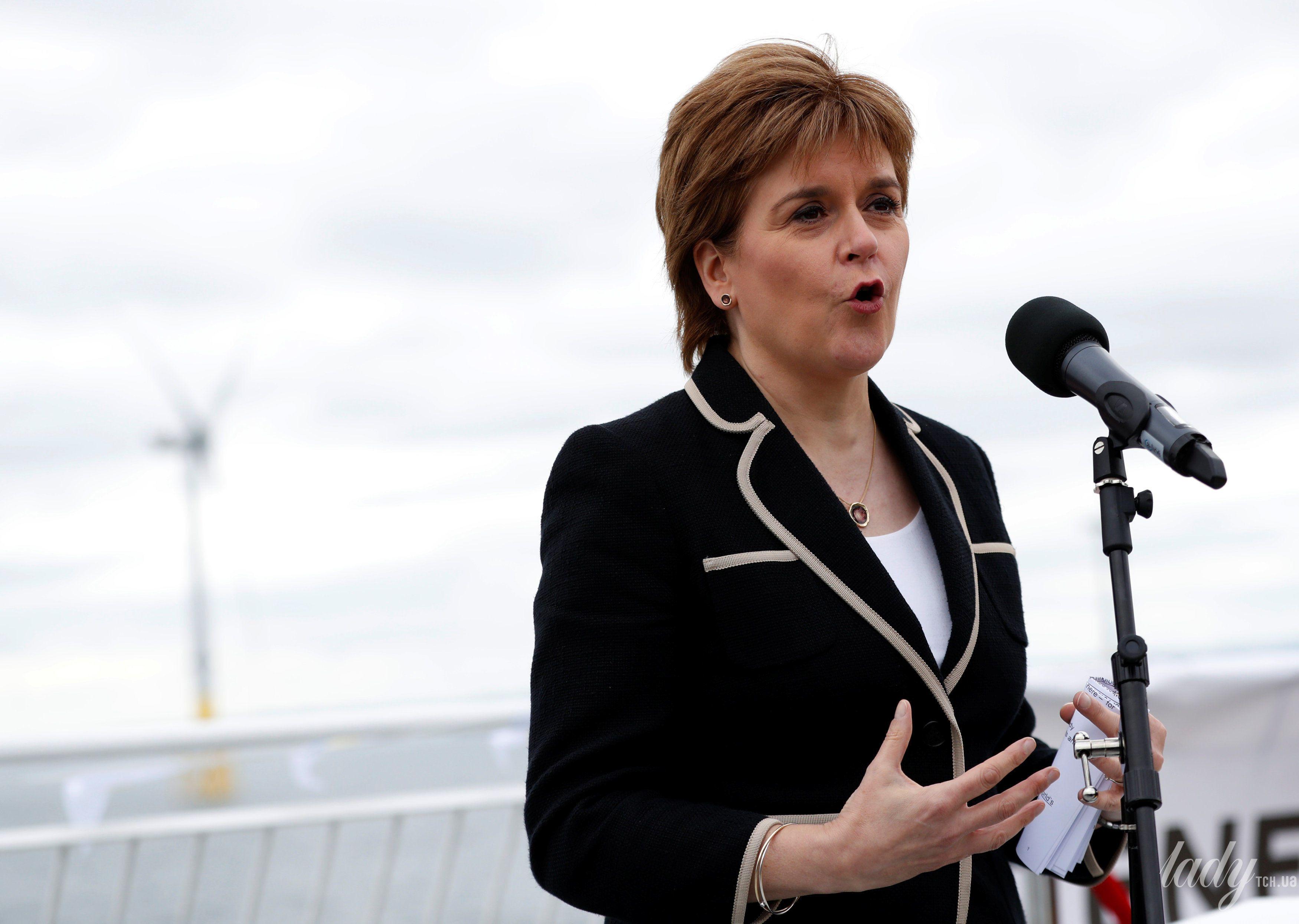 Первый министр Шотландии Никола Стерджен_1