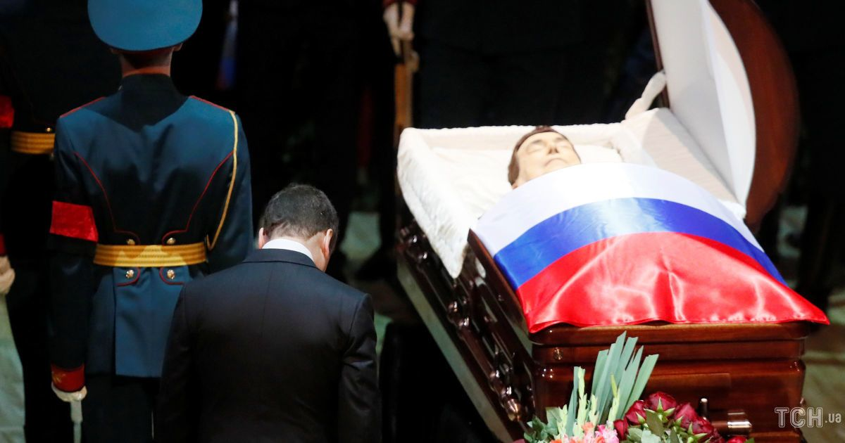 Прощання з Йосипом Кобзоном у Росії