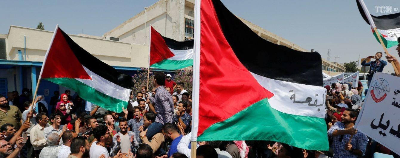 В Белом доме предложили Палестине образовать конфедерацию с Иорданией
