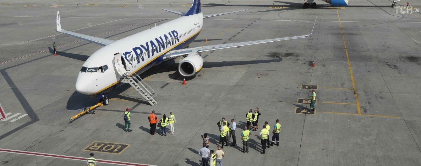 """""""Первый пошел"""". Ryanair выполнил дебютный рейс из Украины"""