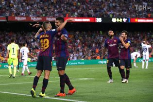 """""""Барселона"""" уничтожила новичка Примеры, отгрузив в его ворота восемь голов"""