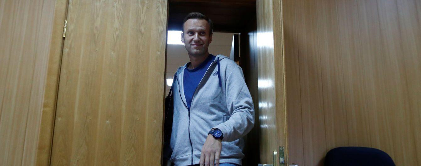 Російського опозиціонера Навального заарештували на 30 діб